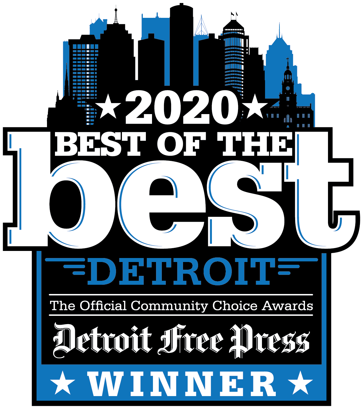 Best of the Best Freep Press Winner Logo